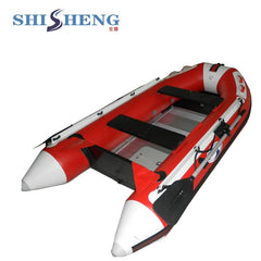 Aluminum Floor New Fishing Rigid Inflatable Boat with High Performance