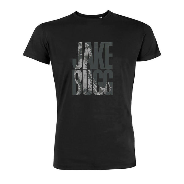 LOGO TEXT BLACK T-SHIRT