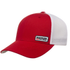 25 - Red/White Small Patch Cap