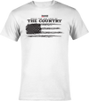 27 - Built for the Love of the Country Graphic Tee - White
