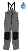 TOR 17 - *Waterproof* WaveTamer Bib - Cool Gray/Jet Black