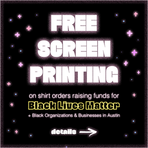 Free Screen Printing for Black Lives Matter
