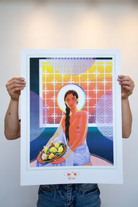 "Nadia Waheed ""Sunset I"" (Limited Edition Screen Print)"