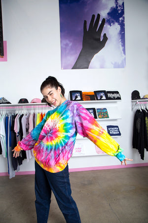 Raw Paw Dark Arts Tie-Dye Sweatshirt