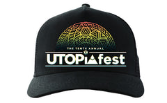 UTOPIAfest X Embroidered Snapback Hat
