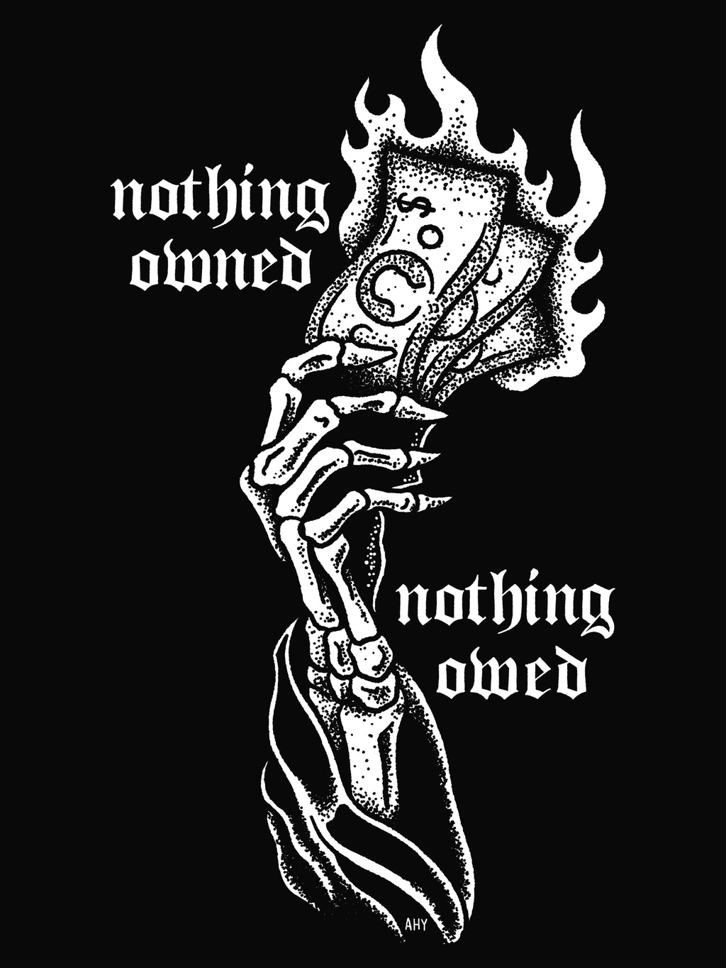 Nothing Owned, Nothing Owed by Aaron Yuhas