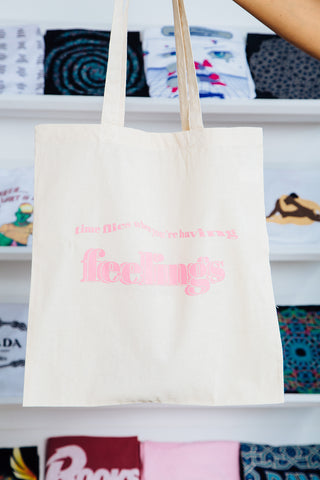 Ponytail Mafia Feelings Tote