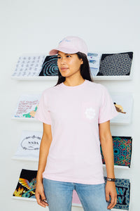 Pink Pocket Logo Shirt