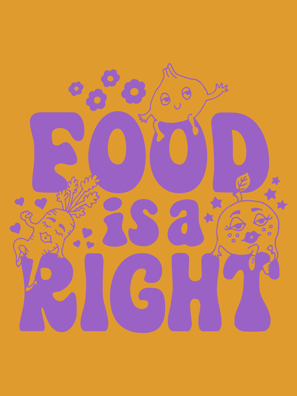 FOOD IS A RIGHT by FREE LUNCH