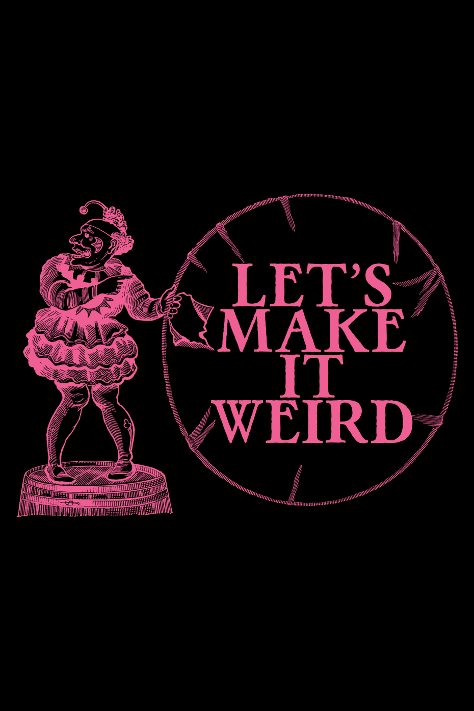 Make It Weird (Black) by LUXian