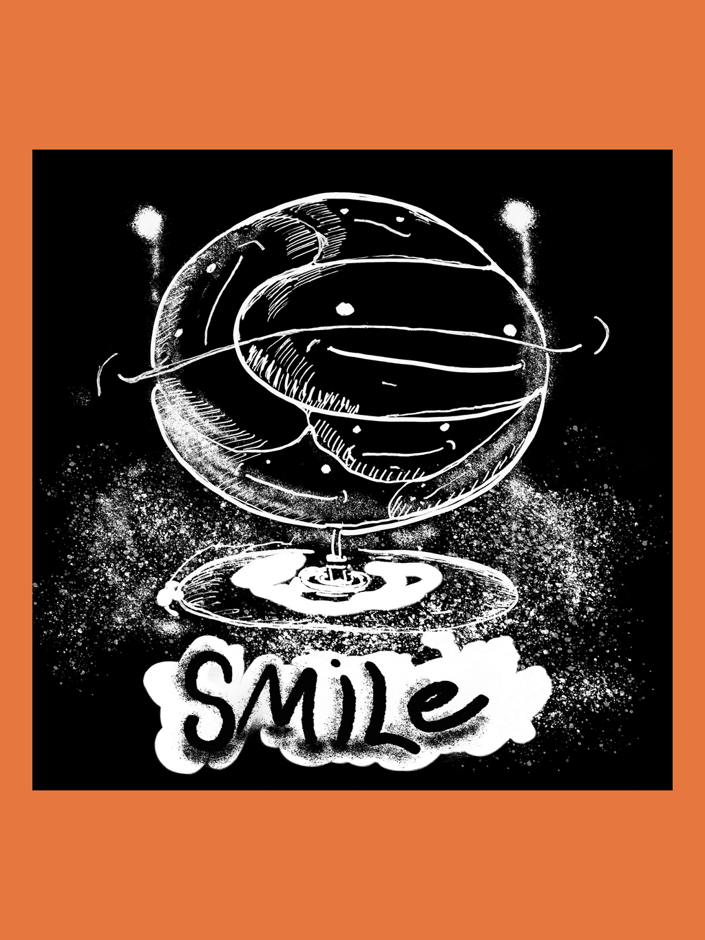 Smile worldwide by Ron Doop