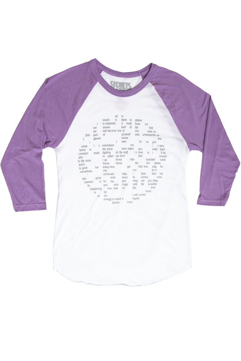 Secrets by Chris Dock Questions Circle Raglan