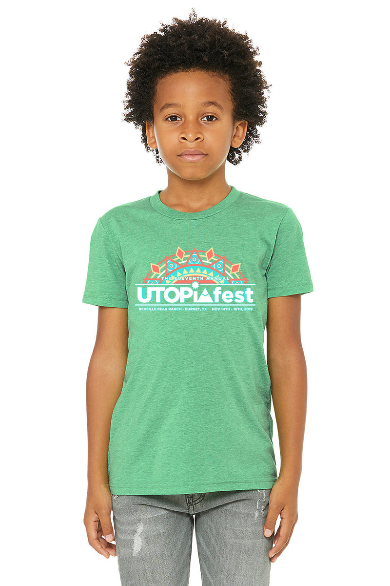 UTOPiAfest Eleven Kids T- Shirt