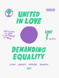 SOE - United in Love by Will Bryant - White Shirt