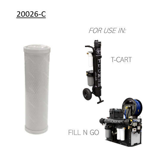 Carbon Filter 20026 (for T-Cart & Fill N Go)