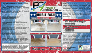 F9 Double Eagle Cleaner, Degreaser, Neutralizer (1 Gallon)