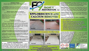 F9 Calcium and Efflorescence Remover (1 Gallon)
