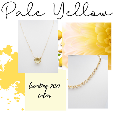 How to wear yellow, this Spring's hottest color, and pair jewelry with it.