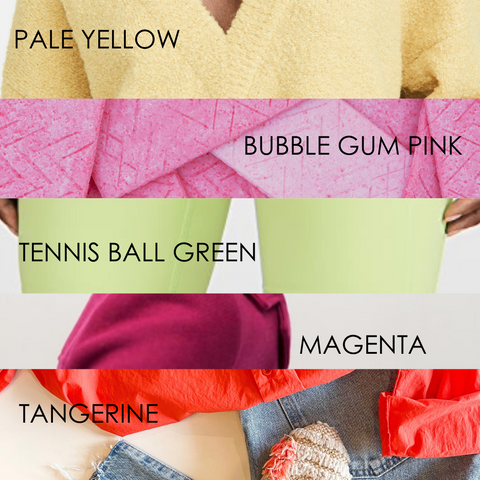 Spring 2021 hottest colors