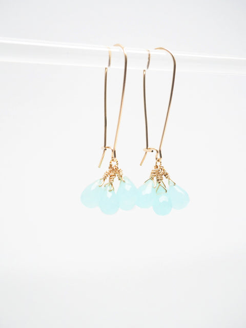 Blue Clarity Earrings