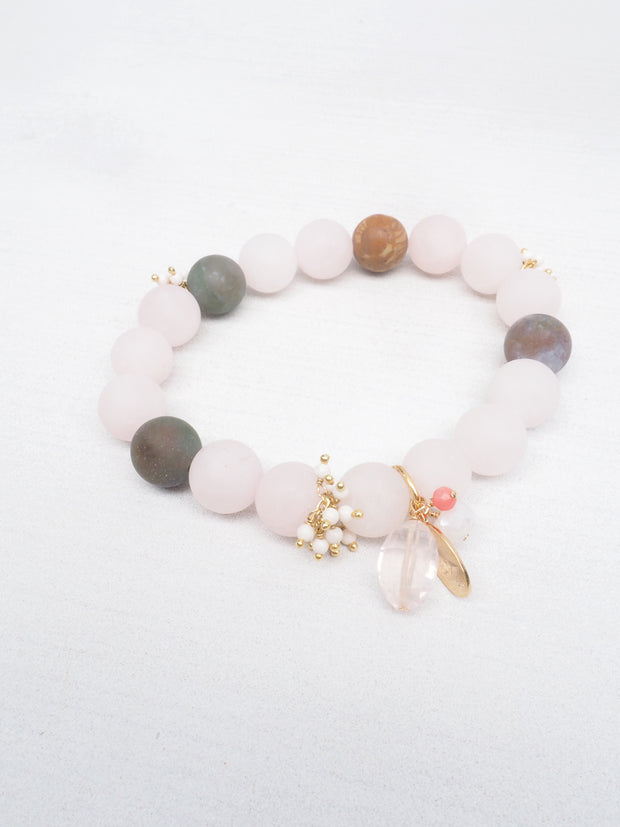 Brushed Rose Bracelet