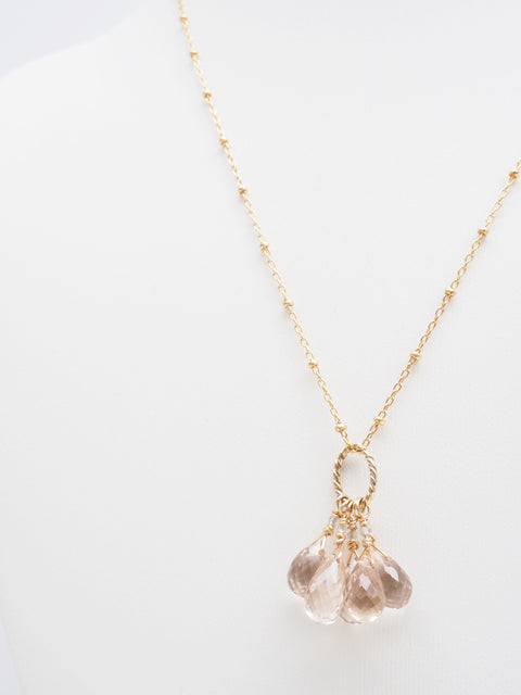 Champagne Clarity Necklace
