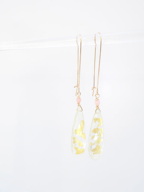 Gold Flex Earrings