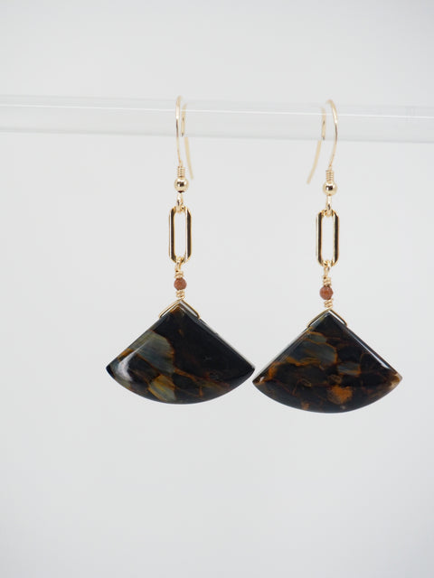 Midnight Wave Earrings