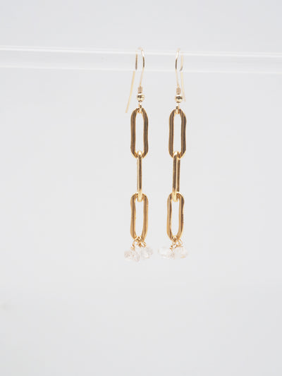 Rectangular Chain Earrings