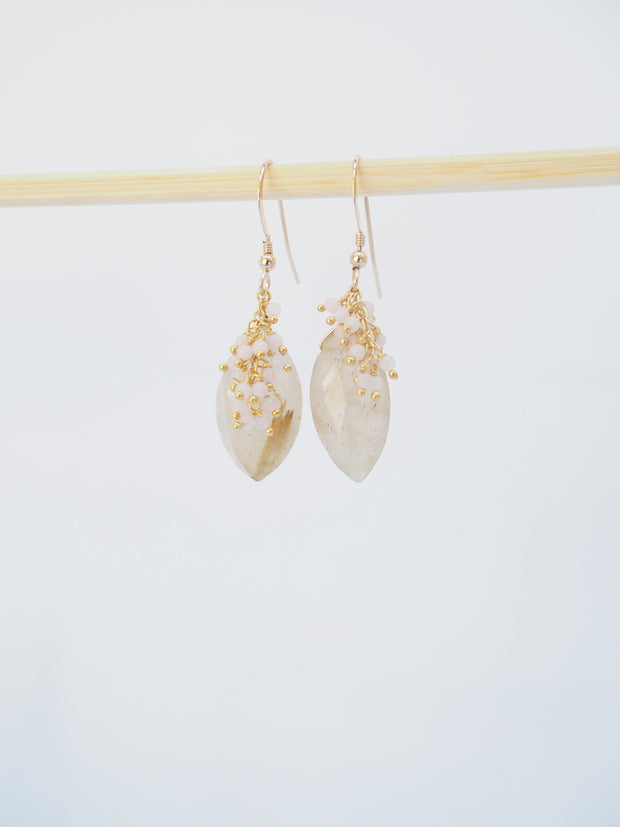 Rose Sand Earrings