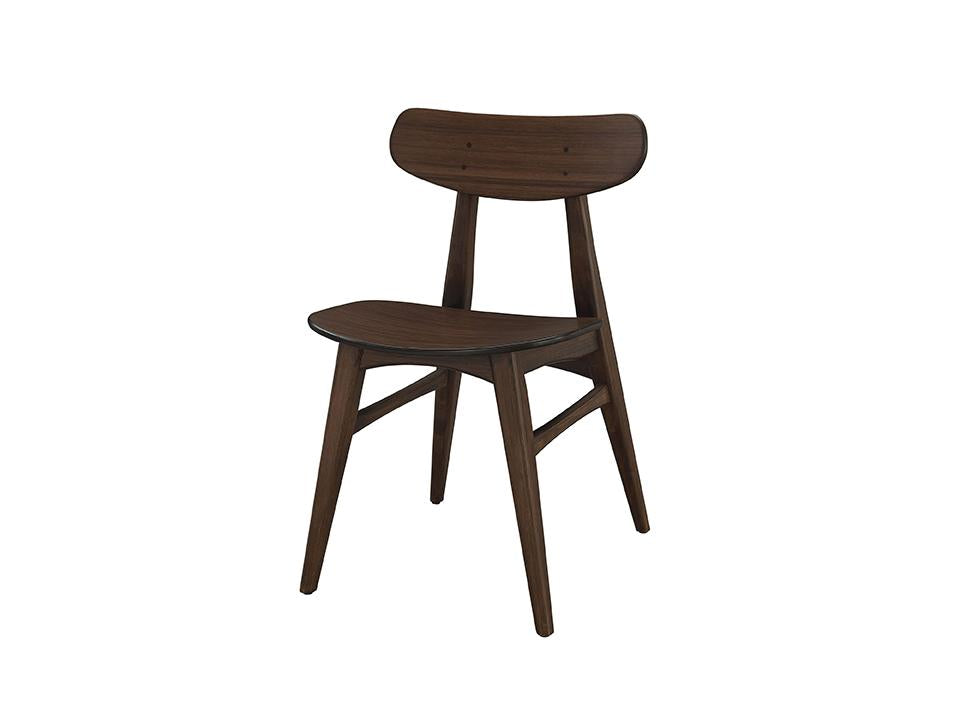 Greenington's Modern and Sustainable Cassia Solid Bamboo Dining Chair in Sable Finish