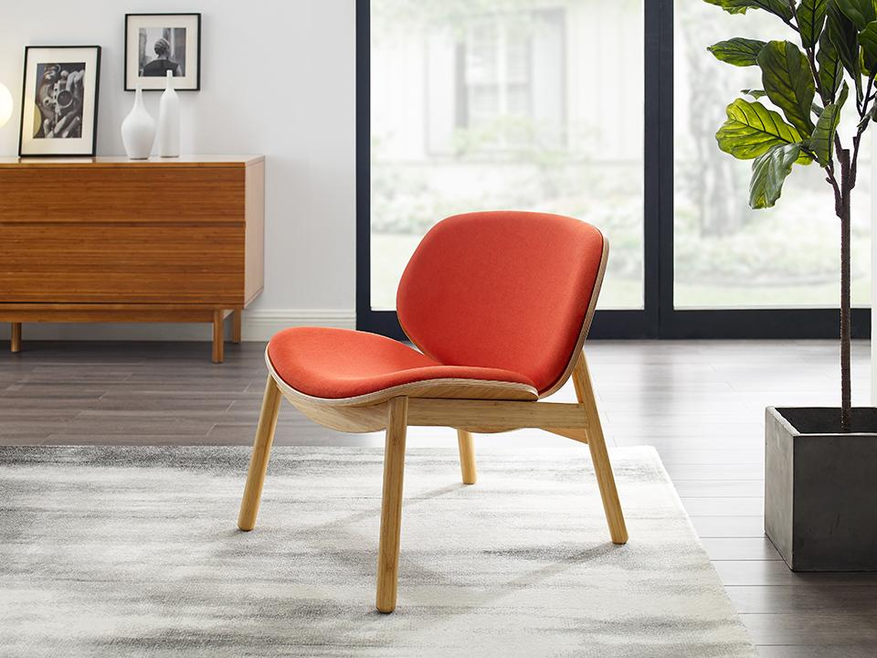 Greenington's Modern and Sustainable Danica Solid Bamboo Chair