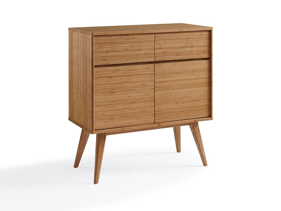 Greenington's Modern and Sustainable Laurel Solid Bamboo Dining Sideboard Buffet in Caramelized Finish