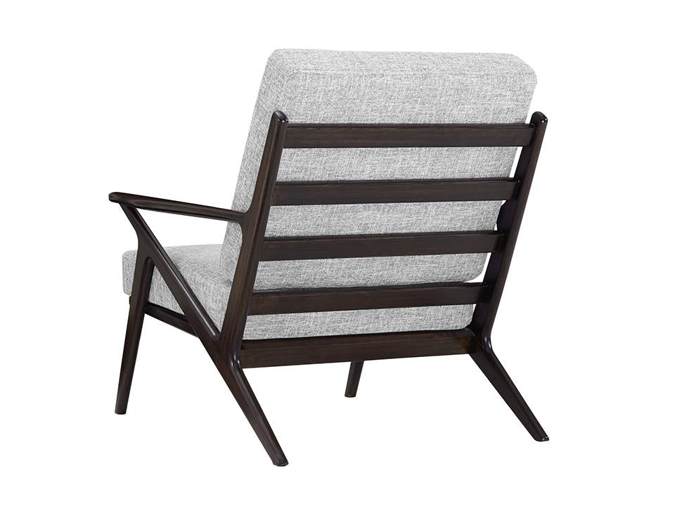 Greenington's Modern and Sustainable Logan Solid Bamboo Accent Chair in Havana Finish