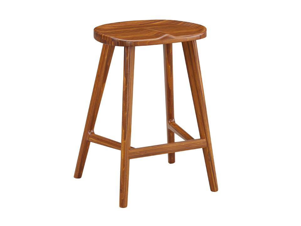 Greenington Max Counter Stool in Solid Amber Bamboo