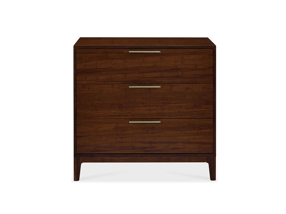 Greenington's Modern and Sustainable Mercury Solid Bamboo Bedroom 2 Door Chest in Exotic