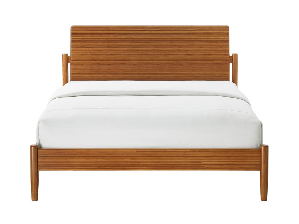 Greenington Monterey Platform Bed in Solid Amber Bamboo