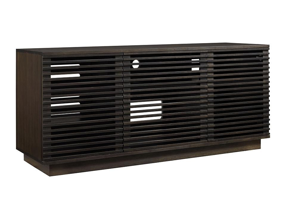 Greenington's Modern and Sustainable Rowan 64 in. Solid Bamboo Entertainment Media Center in Havana Finish