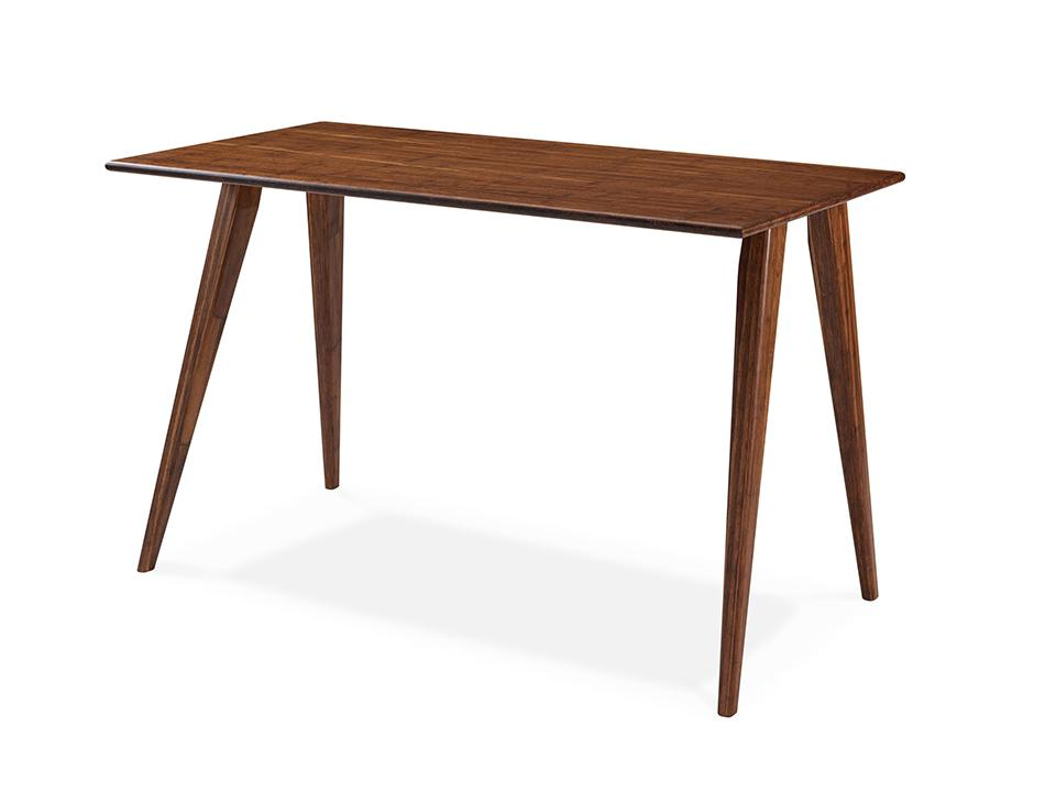 Greenington's Modern and Sustainable Studio Line Solid Bamboo Writing Desk in Exotic Finish