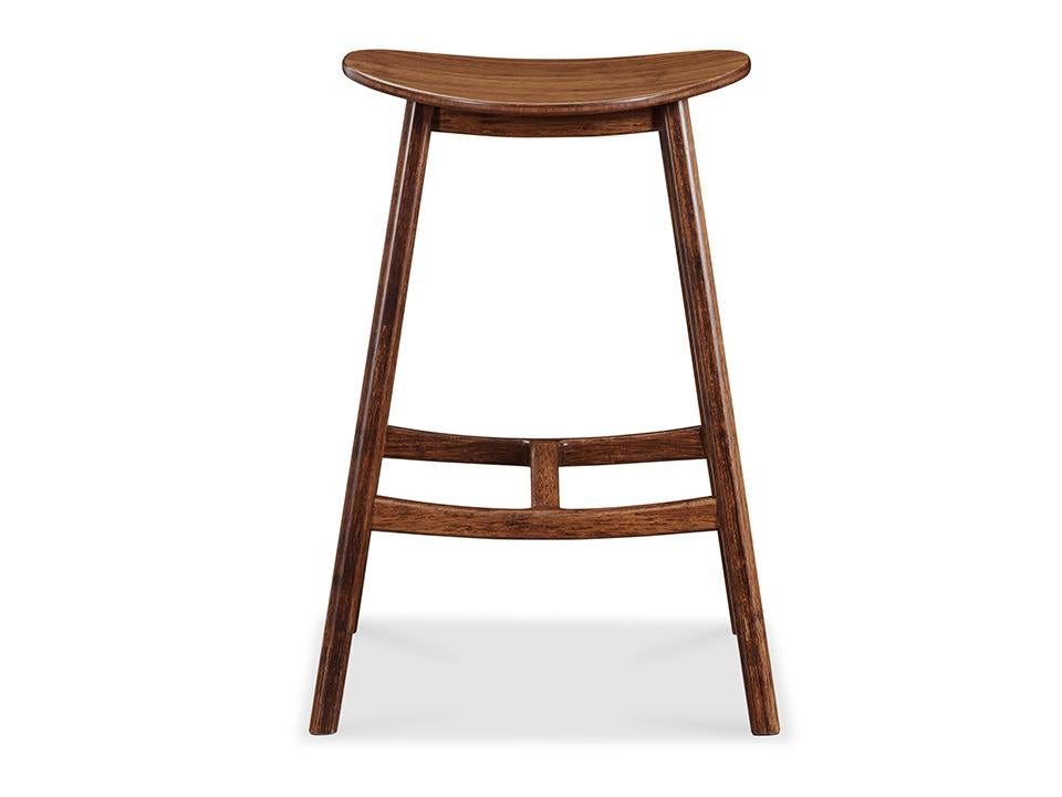 Greenington's Modern and Sustainable Skol Solid Bamboo Counter Height Stool in Exotic Finish