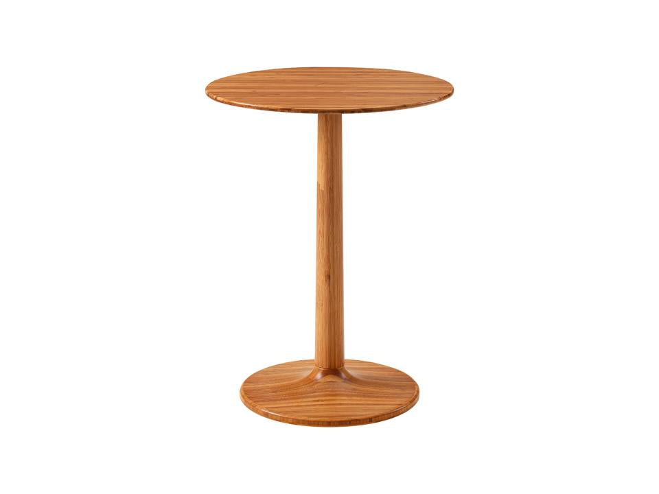 Greenington Sol Side Table in Solid Amber Bamboo