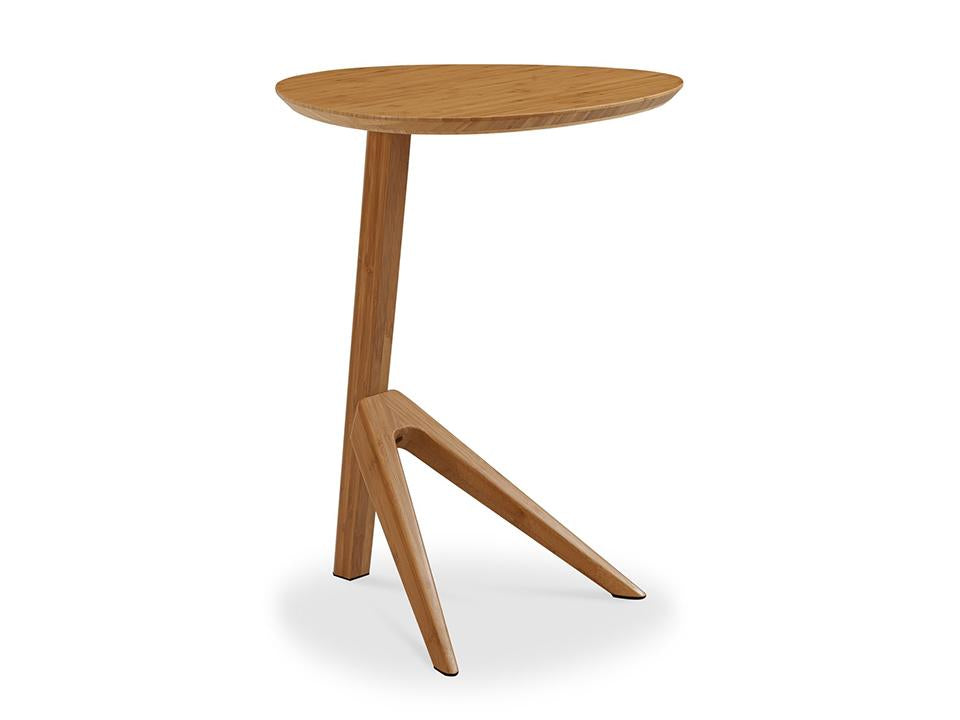 Greenington's Modern and Sustainable Rosemary Solid Bamboo Occasional End Table in Caramelized Finish