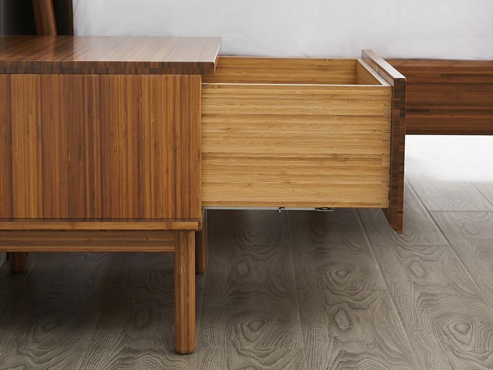 Greenington's Modern and Sustainable Ventura Solid Bamboo Nightstand