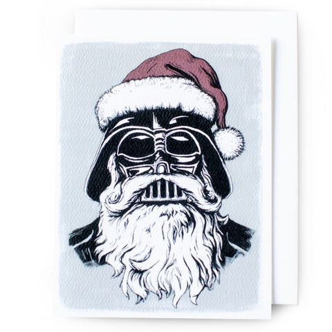 Vader Claus Christmas Card