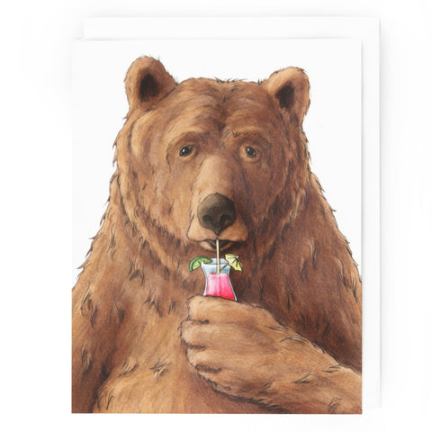 Bear Happy Hour Card (All Occasion)