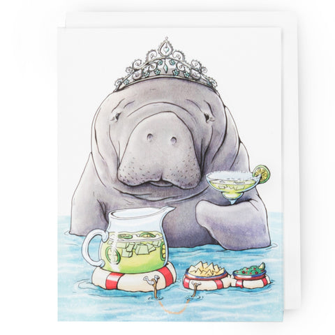 Manatee Happy Hour Card (All Occasion)