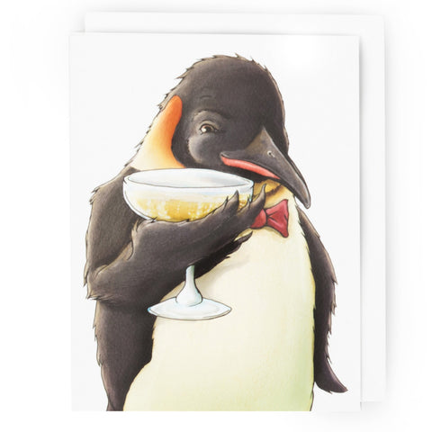 Penguin Happy Hour Card (All Occasion)