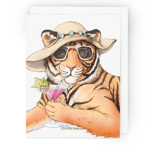 Tiger Happy Hour Card