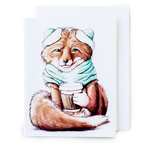 Fox Happy Hour Card (All Occasion) - Box of 8
