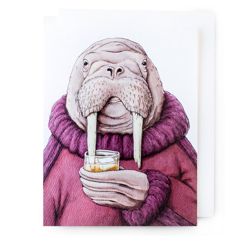 Walrus Happy Hour Card (All Occasion)
